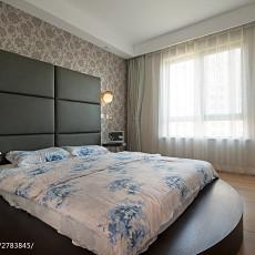 2018精选面积88平现代二居卧室装饰图片