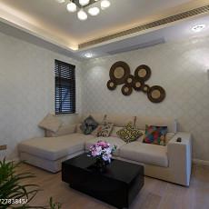 2018面积87平现代二居客厅装饰图片欣赏