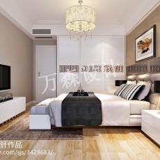 热门二居卧室现代装饰图