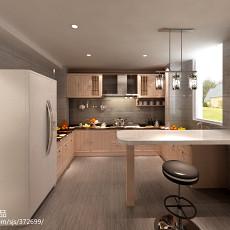 热门欧式复式厨房装修图片