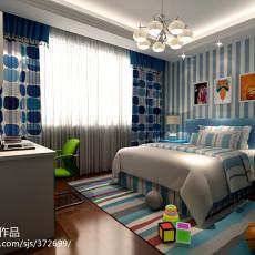 精美面积119平复式卧室欧式装修欣赏图