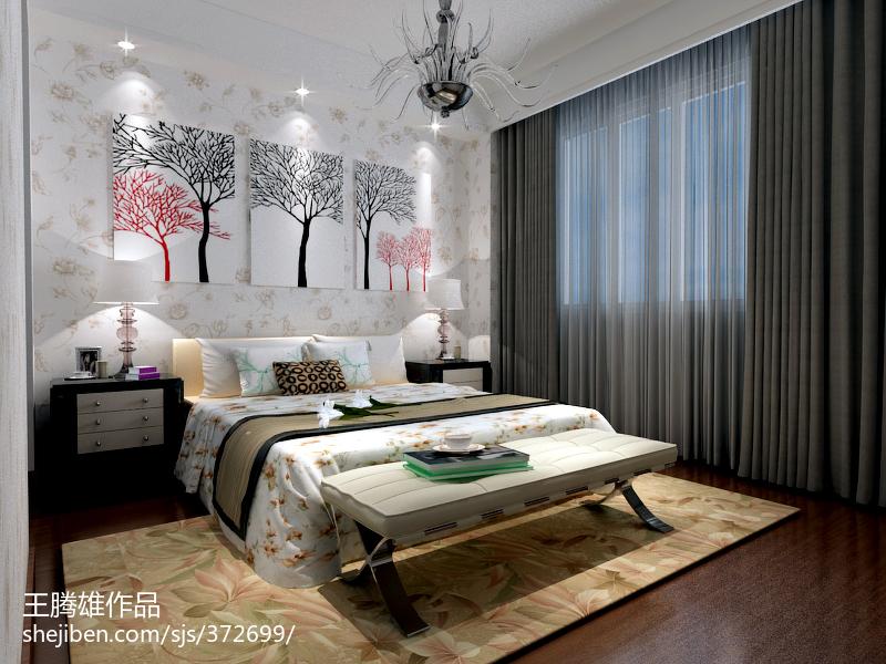 2018精选117平米欧式复式卧室装修欣赏图片大全