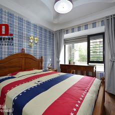 四居卧室美式装修图片欣赏