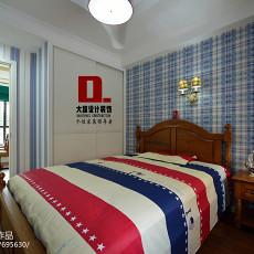精选129平米四居卧室美式效果图片大全