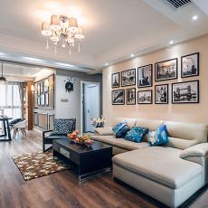91平米三居客厅现代装修效果图片
