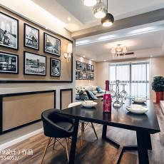 精选大小107平现代三居餐厅装修设计效果图