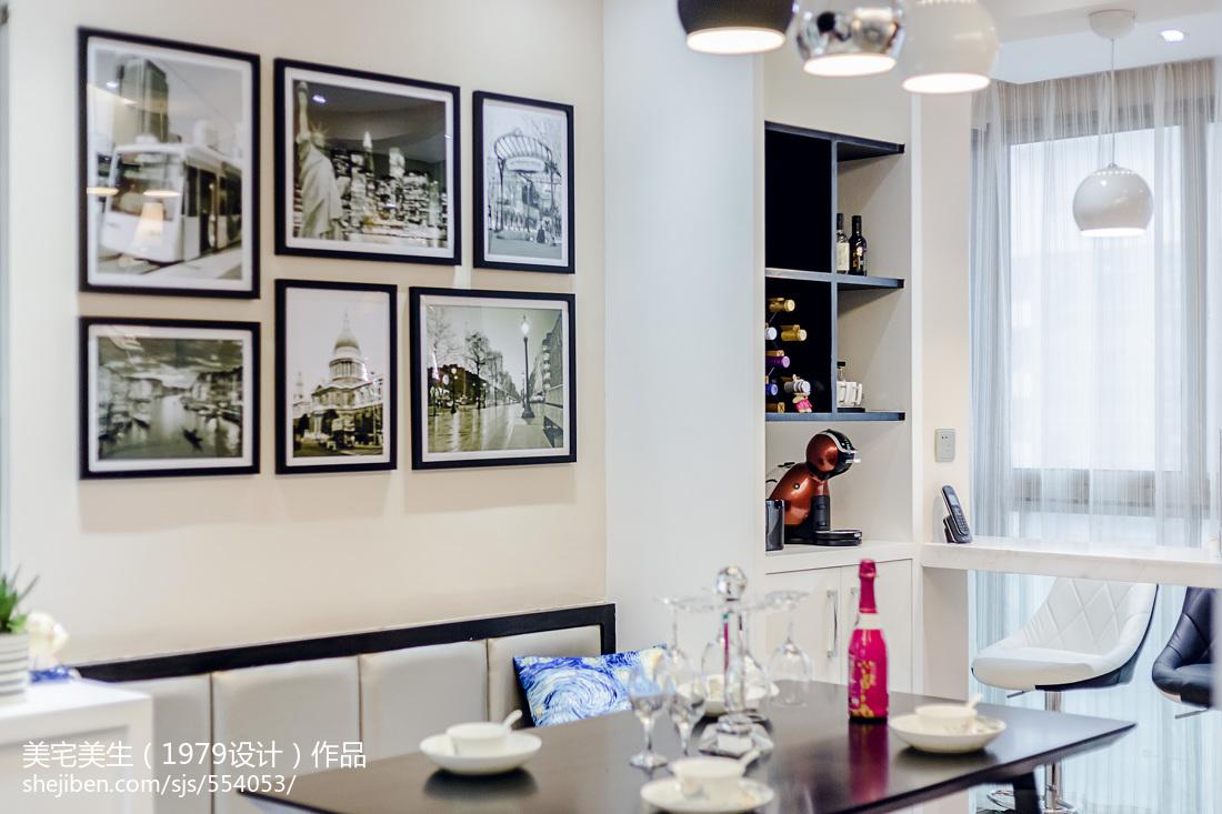 201892平米三居餐厅现代装修欣赏图片