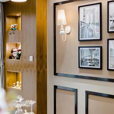 2018面积91平现代三居客厅效果图片