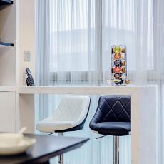 热门97平米三居餐厅现代装修图片欣赏
