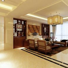 热门面积116平复式客厅欧式装修实景图片欣赏