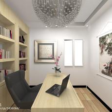精美面积82平现代二居书房效果图