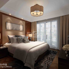 2018东南亚别墅卧室设计效果图