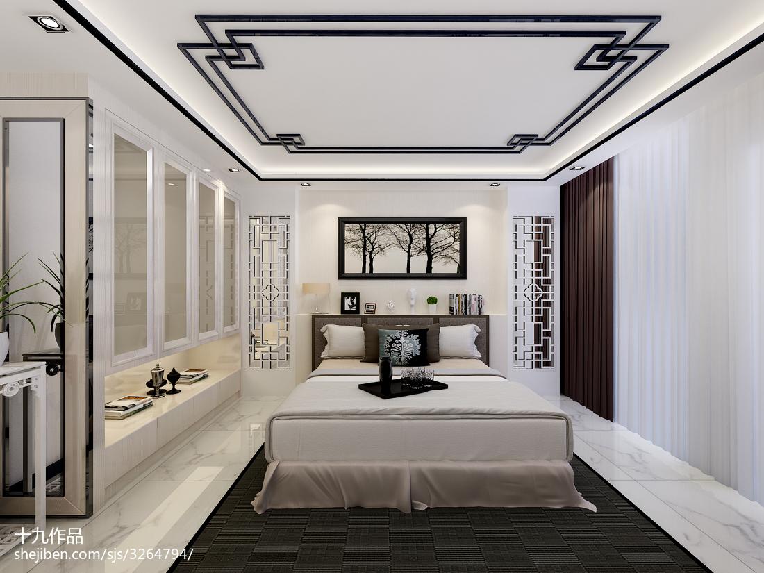 热门大小144平中式四居卧室效果图
