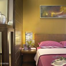 时尚美式餐厅背景墙装饰画图片