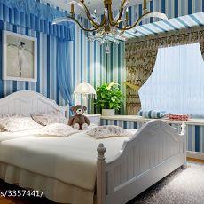 精选面积78平东南亚二居卧室装修实景图片