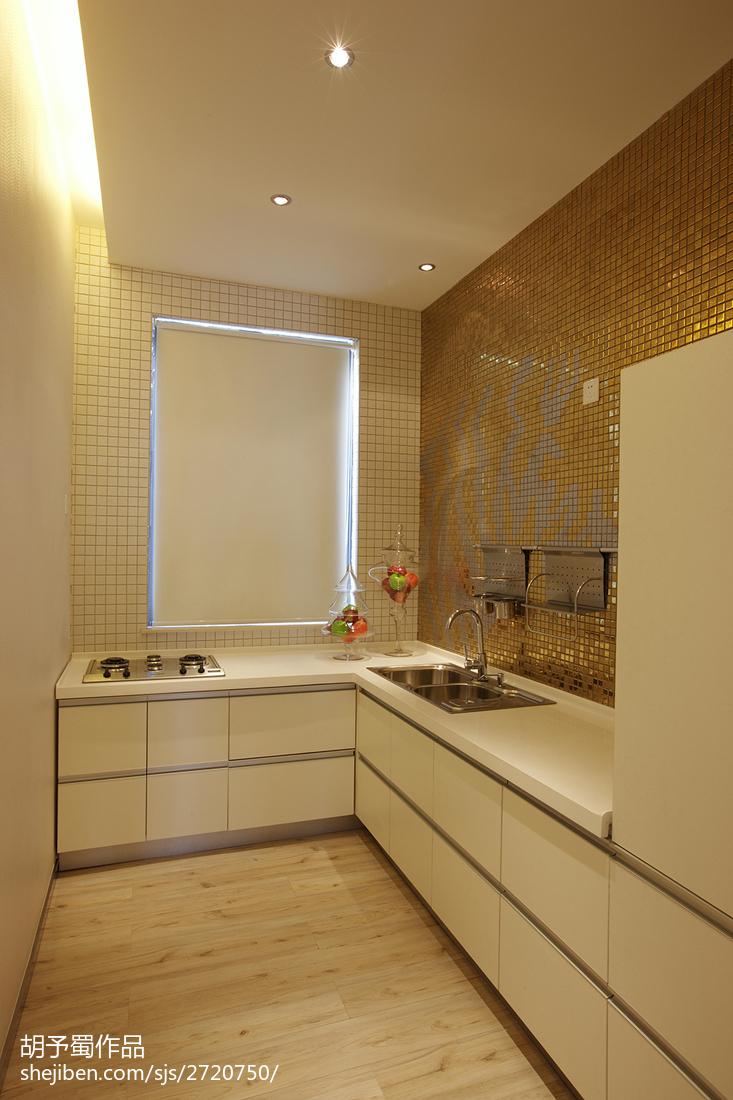 最火129平米现代别墅厨房装修图片欣赏