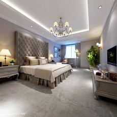 精选面积136平别墅卧室欧式装修欣赏图