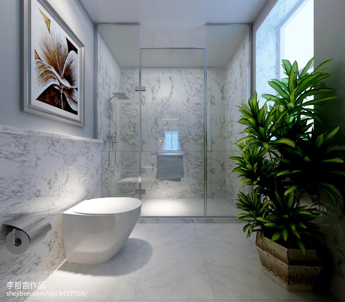 精选欧式别墅卫生间装修设计效果图片大全