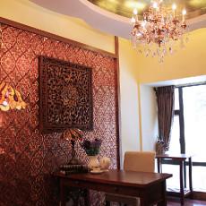 东南亚风格书房设计图片欣赏