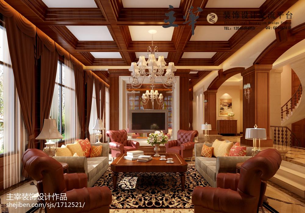 简约风清爽舒适感客厅图片