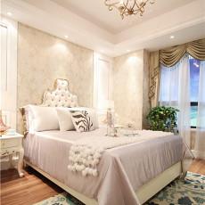 106平米三居卧室欧式装修设计效果图