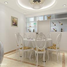 热门四居厨房欧式设计效果图