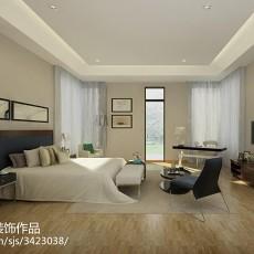 精选面积132平别墅客厅中式实景图片