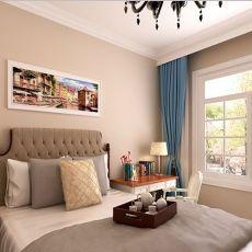 热门大小109平现代三居卧室效果图
