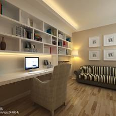 精美112平米四居书房欧式装修设计效果图片