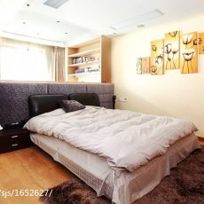 精选大小90平现代三居卧室装修实景图片大全