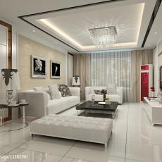 精选面积100平现代三居客厅装修设计效果图片欣赏