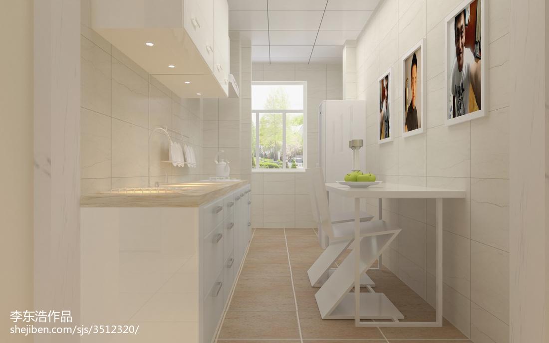 2018精选82平米二居厨房现代装修图片大全