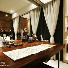 中式二居书房装修效果图片大全