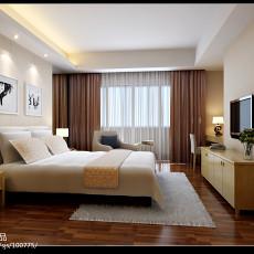 热门面积100平现代三居卧室装饰图片欣赏