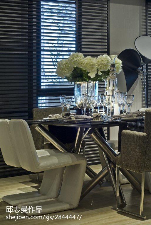 精美餐厅现代装修设计效果图片大全