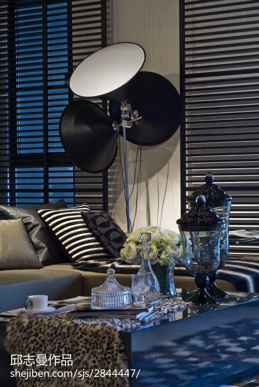 79.4平热门客厅现代装修效果图片
