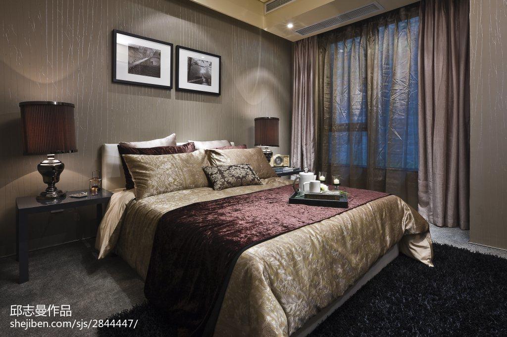 卧室现代装修实景图片大全