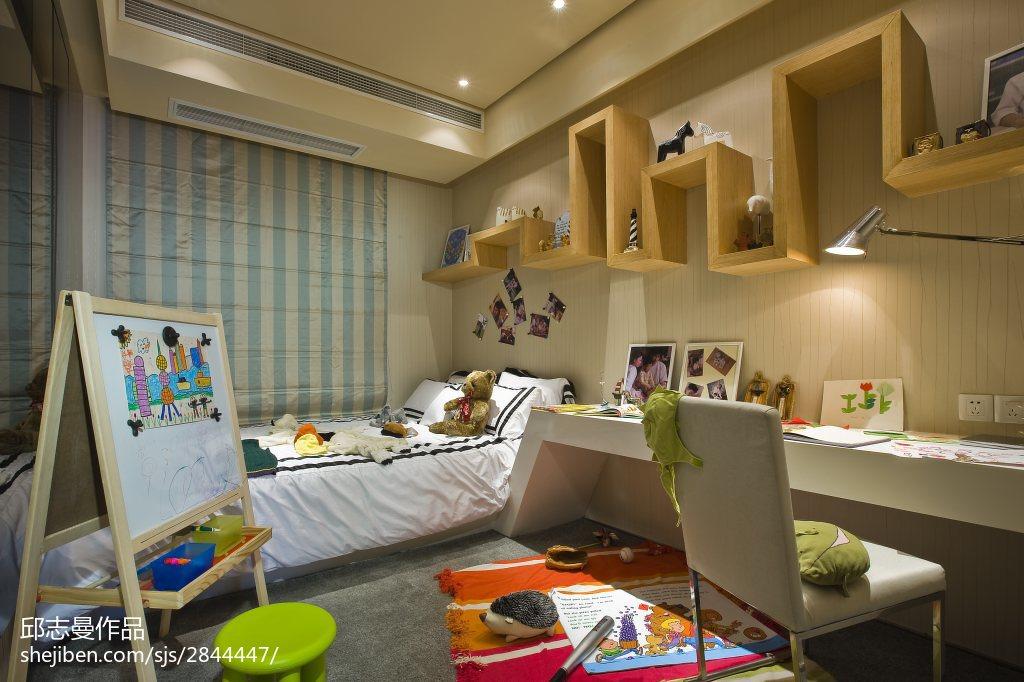 卧室现代装饰图