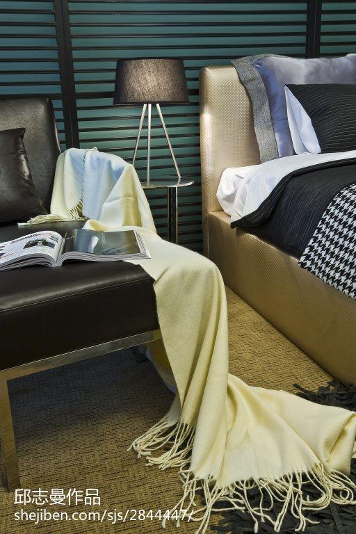 现代卧室装修设计效果图片