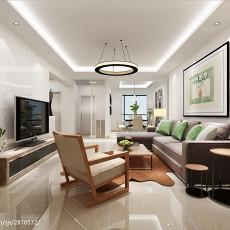 简约现代客厅吸顶灯