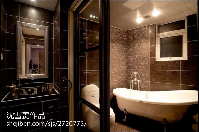 四室两厅装修效果图卫生间装修效果图
