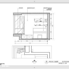 201898平米三居书房现代实景图片欣赏