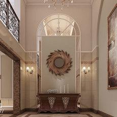 116平米欧式别墅玄关装修图片欣赏