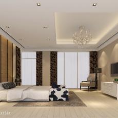 精美134平米新古典别墅卧室装修图