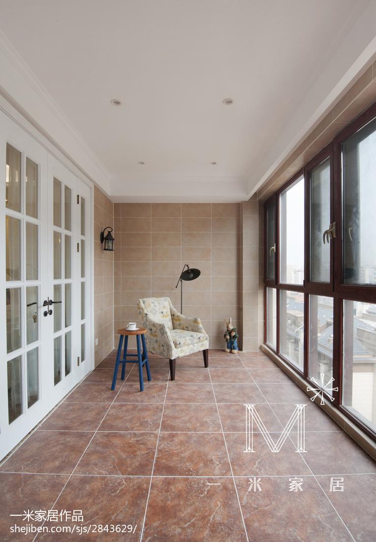 典雅101平美式四居装修图片