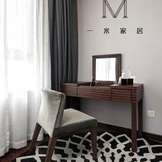 热门大小99平现代三居卧室装修欣赏图