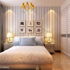 精美面积90平现代三居卧室实景图片欣赏