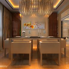 精美134平米四居餐厅现代装修实景图片欣赏