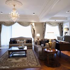 热门98平米三居客厅欧式效果图片大全