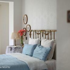 典雅726平欧式别墅卧室装修装饰图